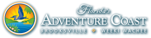 Floridas Adventure Coast logo in which Adventure Coast Charters is associated with